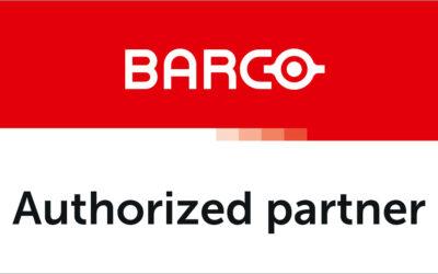Siamo partner autorizzato Barco